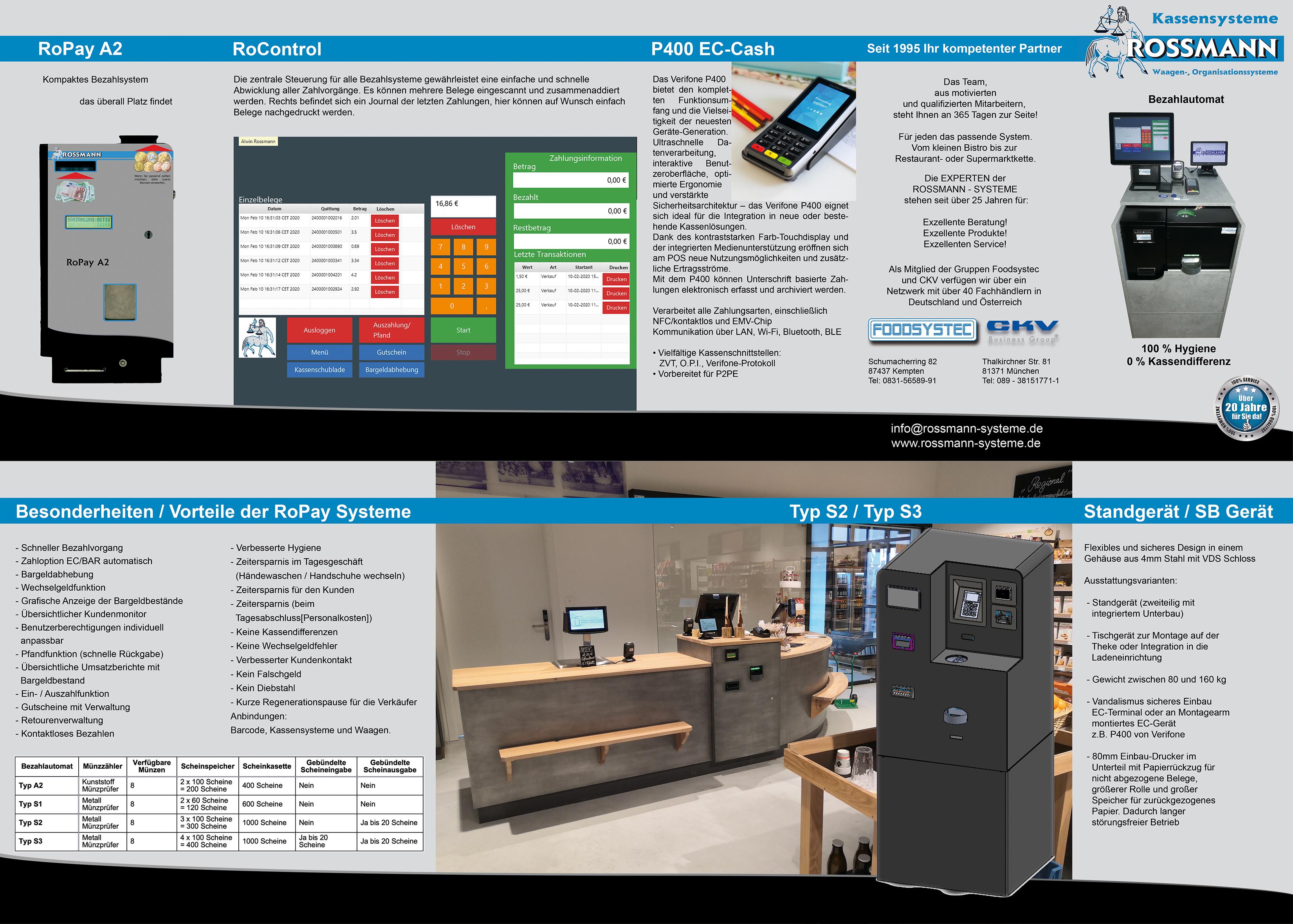 Bezahlsysteme - Bezahlautomaten